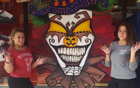 Art Club Paints the Town Spooky!
