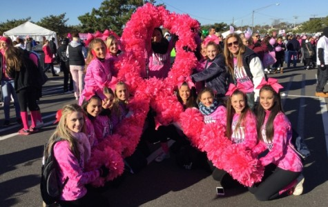 Township Cheerleaders Raise Thousands: Making Strides at Point Pleasant Beach Event