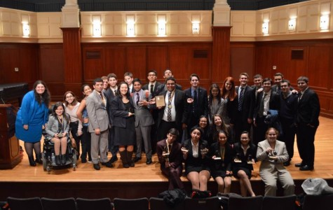 Forensics Team Takes 2nd Place at TCNJ