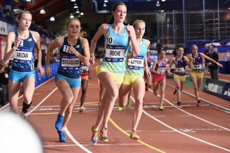 Roche Runs in the Prestigious Millrose Games