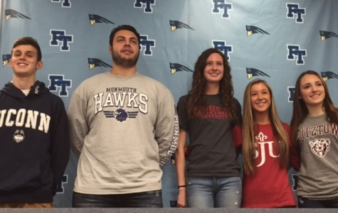 Five FTHS Athletes Make D1 Commitments