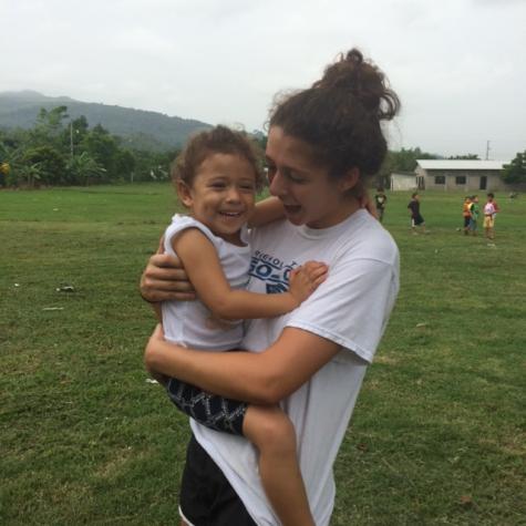Junior Sacchetti Makes a Difference in Honduras