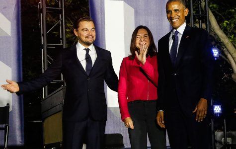 President Obama and Leonardo DiCaprio Discuss Climate Change
