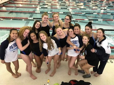 Girls Swim Team Finishes Another Successful Season