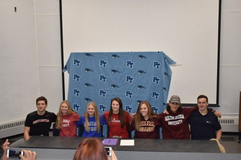 Seven FTHS Athletes Sign with D1 Colleges