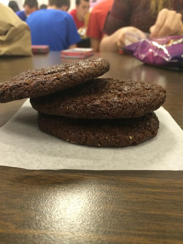 The new (and improved?) cookies available during lunch periods.