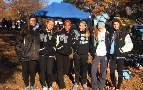 Girls Cross Country Shows Their Bond at Holmdel