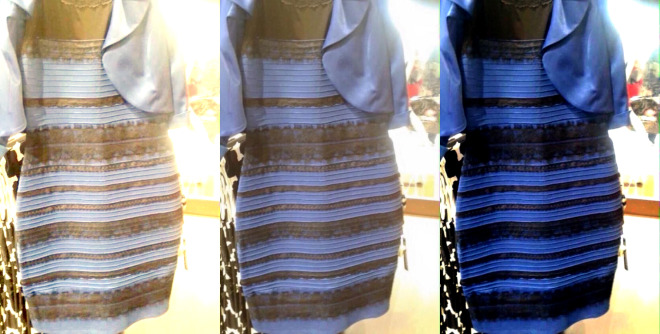 The Infamous Blue and Black (and White and Gold) Dress