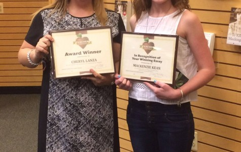 Mrs. Lanza Awarded by Barnes and Noble