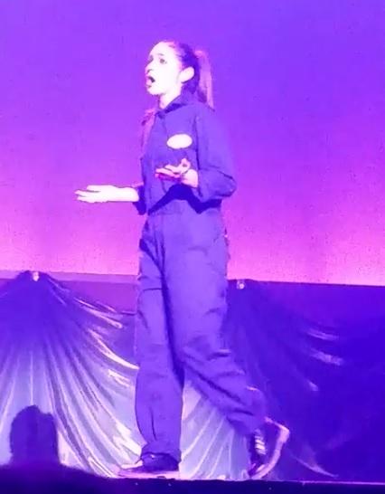 Anna Juliano Performing
