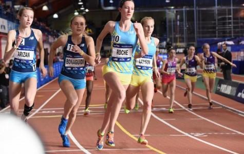 Roche Runs in the Prestigious Millrose Games