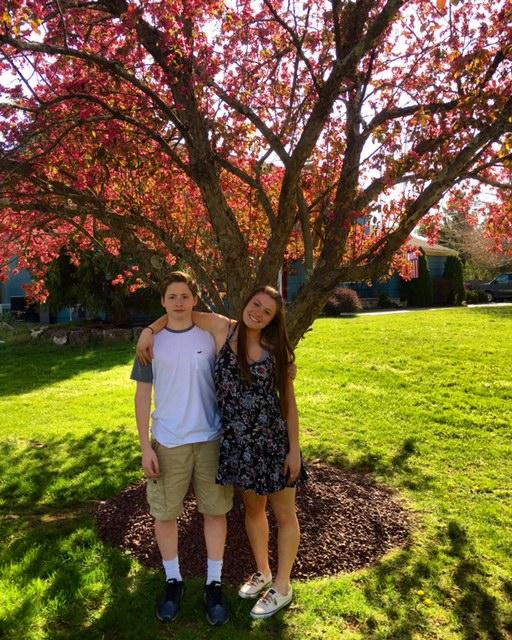 sophomore twins Matt and Sarah Hughes