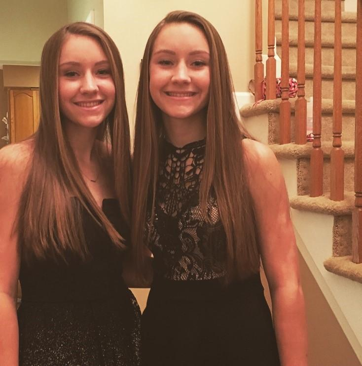 sophomore twins Kasey and Riley Finnigan