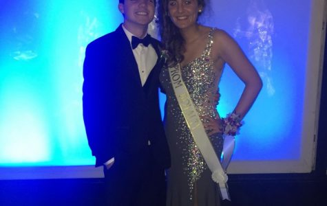 Mia Lombardi -- Getting on the prom court  (with Joe Santitoro)