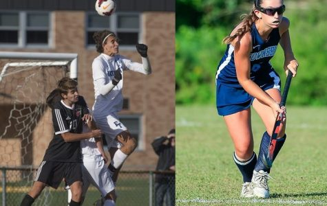 Barajas, Eriksen Earn Athletes of the Month Honors for October