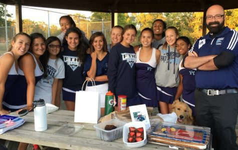 Girls Tennis Team Has a Familial Bond