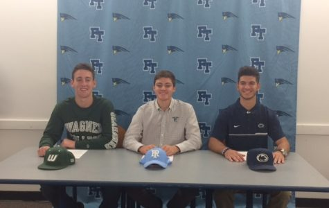 Three FTHS Athletes Make D1 Commitments
