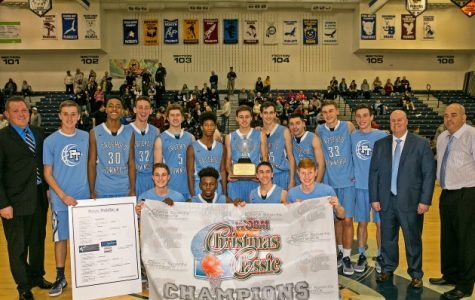 Boys Varsity Basketball Wins First WOBM Tournament Championship