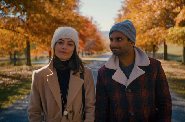 Aziz+Ansari+as+Dev+and+Alessandra+Mastronardi+as+Francesca.+The+second+season+focuses+in+the+relationship+between+Dev+and+Francesca+and+provides+an+enduring+and+warm+tale+on+modern+day+love%2C+both+fulfilled+and+unrequited.++