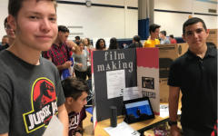 FTHS Film Making Club Auditions Aspiring Filmmakers at Activities Fair
