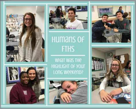 Humans of FTHS: How do you deal with stress?