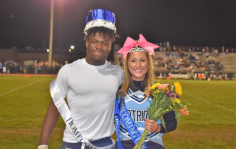 Senior Spotlight: Gabby Beam and Eric Quartey, Your Homecoming King and Queen