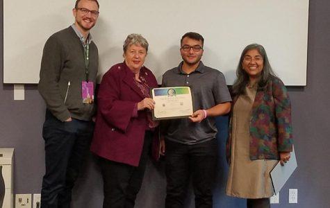 TJ Illuzzi Presents Paper at World Food Prize in Iowa