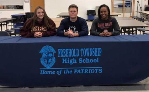 Division II & III Athletes Sign