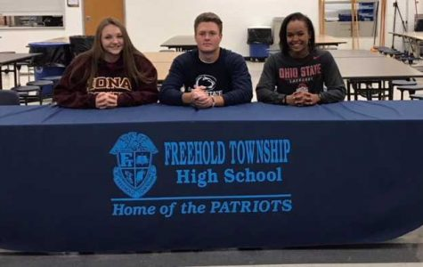 Three FTHS Athletes Sign with D1 Colleges
