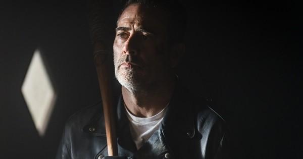 Jeffrey Dean Morgan as Negan- The Walking Dead _ Season 8, Episode 1 - Photo Credit: Gene Page/AMC
