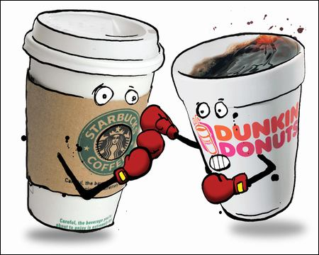 Debate: Starbucks vs. Dunkin