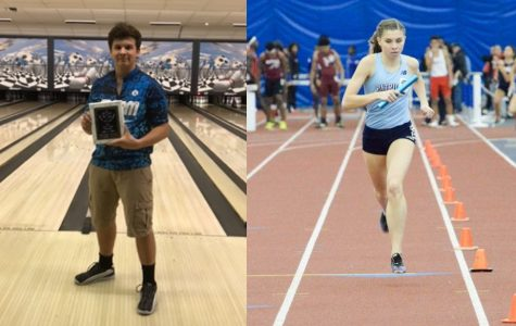 Bertscha and Laskay, December Athletes of the Month
