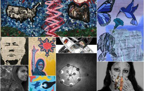 IB Visual Arts Seniors Exhibit Their Work