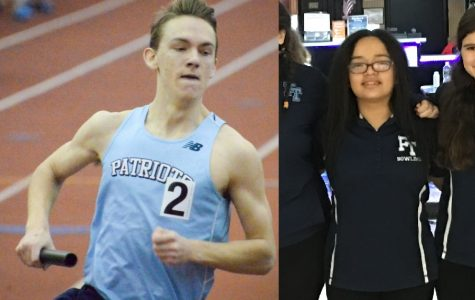 Kelly and Parrinello Named February Athletes of the Month