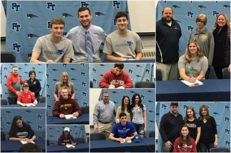 FTHS Seniors Who Will Continue Playing Their Sports in College