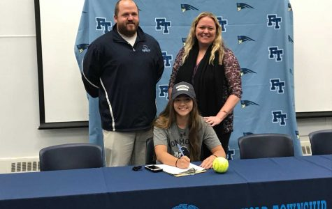 Heather Lally, Softball at Monmouth