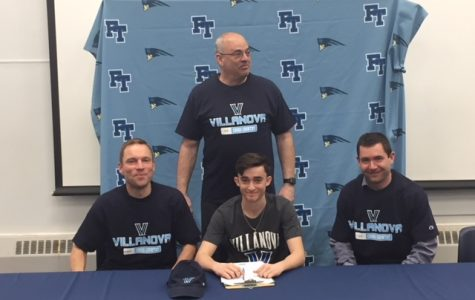 Nick Ackerman, Track and XC at Villanova