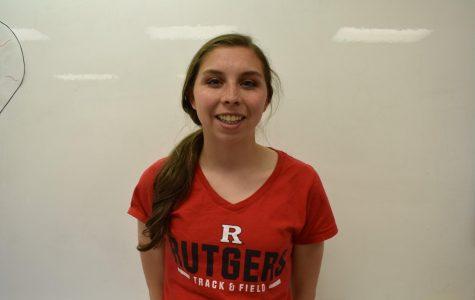 Erin Bertscha, Rutgers