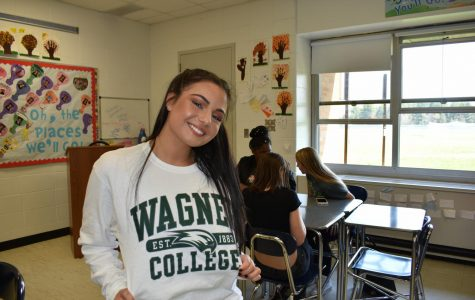 Gianna Micalizzi, Wagner College