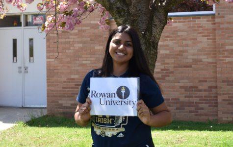 Khwahish Dave, Rowan University