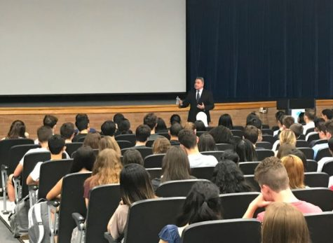 Congressman Chris Smith visits FTHS