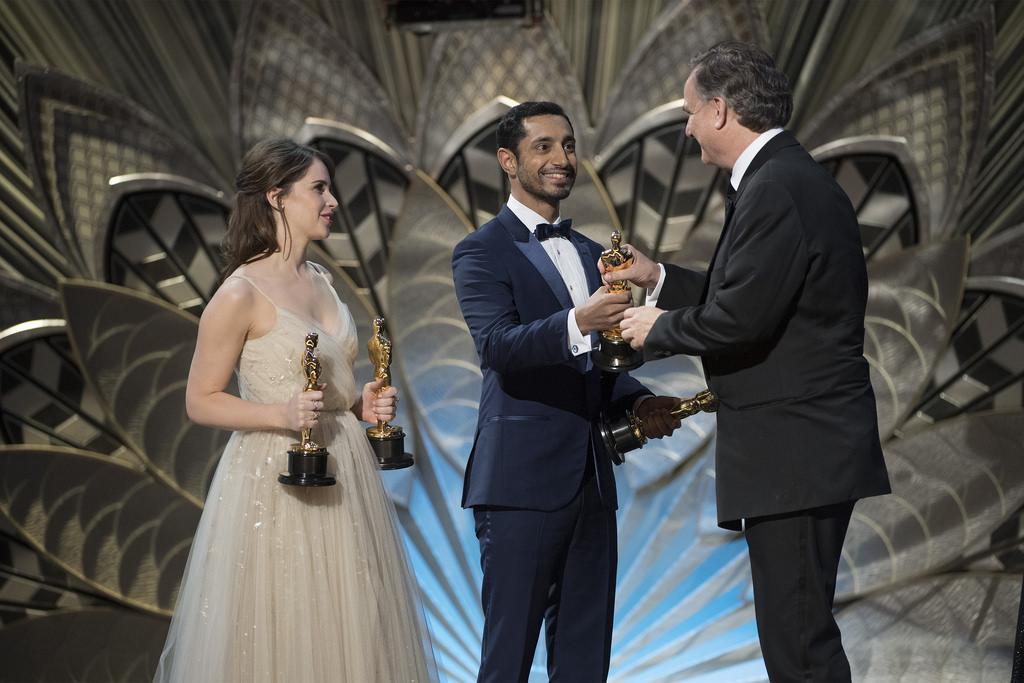 Riz Ahmed at the 89th Academy Awards.