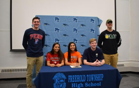 Five FTHS Athletes Sign D1 Commitments