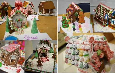 Creative Foods Gingerbread Houses!