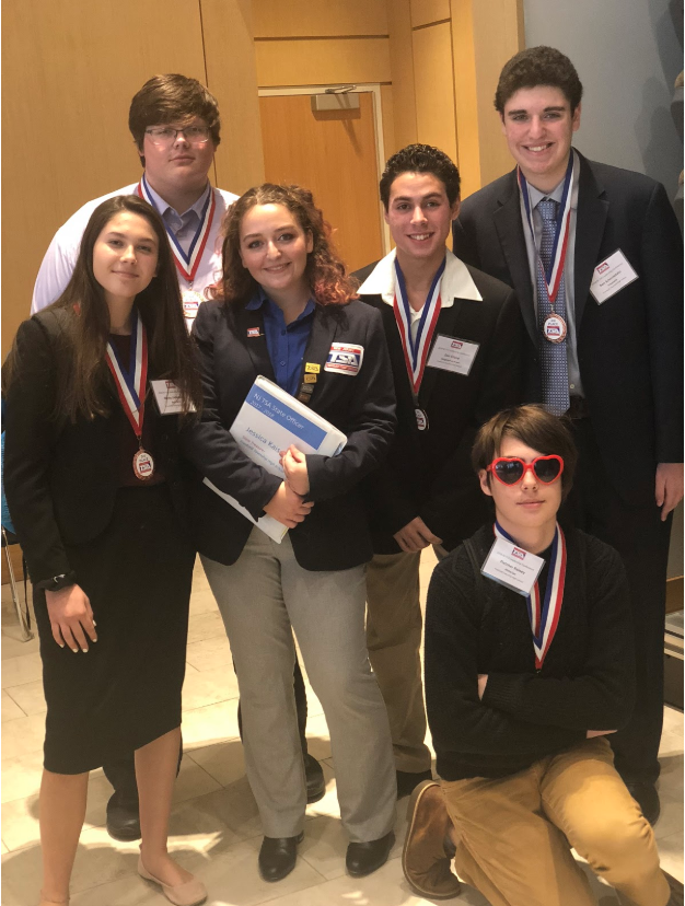 FTHS Wins 3rd At A Design Challenge At TSA Leadership Conference