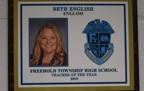 Ms. English Wins FTHS Teacher of the Year