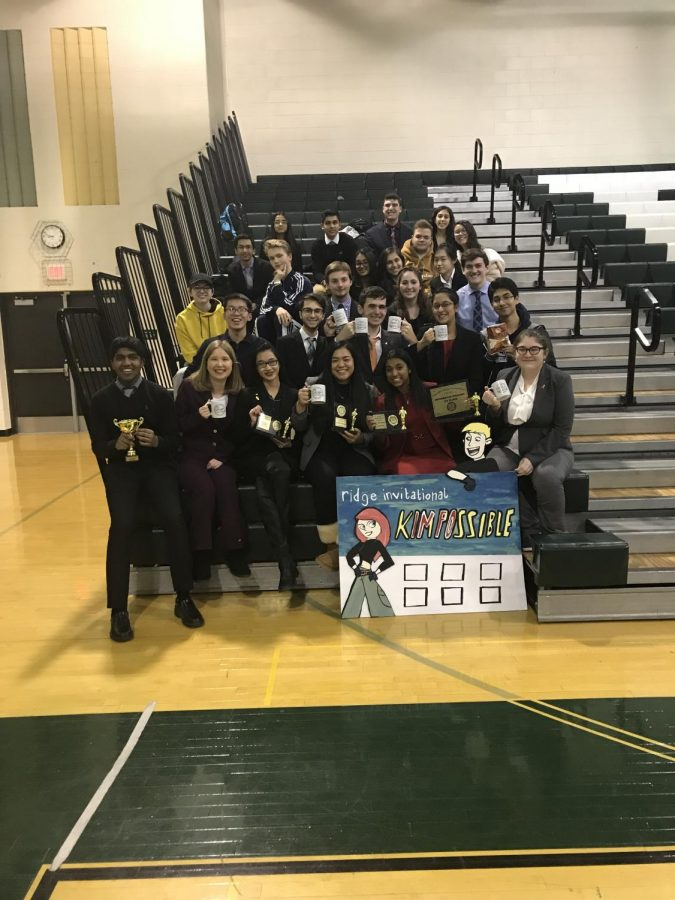 FTHS's Forensics Team Places 8th at Ridge Invitational
