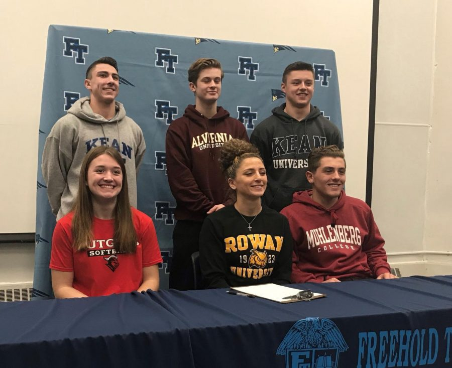 Six+More+FTHS+Athletes+Sign+to+Compete+in+College