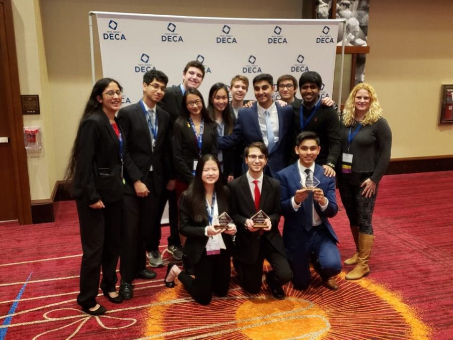 Freehold Township Students Are NJ DECA Bold At State Conference