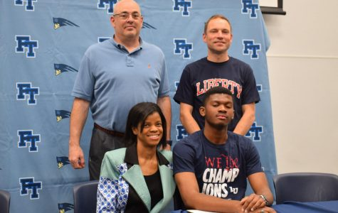 Felix Lawrence, Track & Field at Liberty